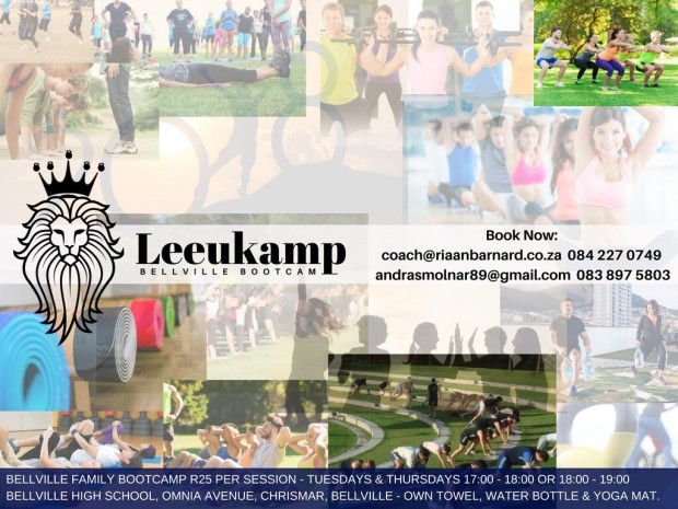 Leeukamp Bellville Bootcamp