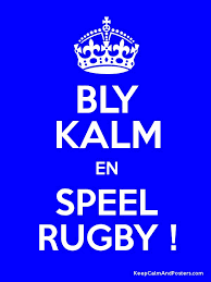 Rugby - Bly kalm
