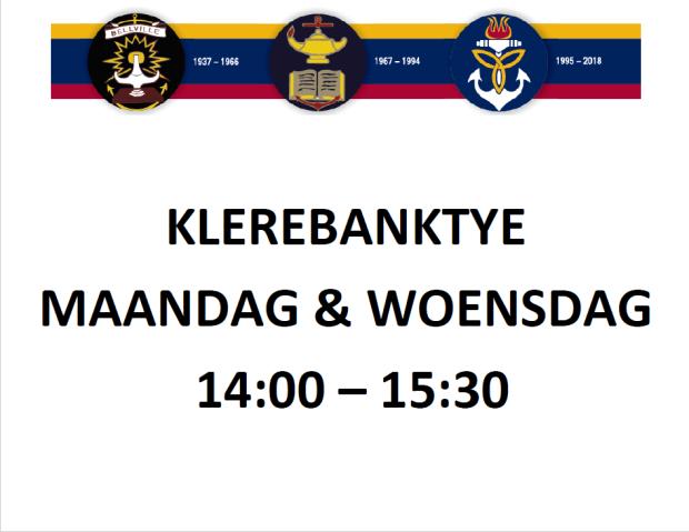 Klerebank Info
