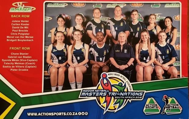 SA Aksie Sport spanfoto - Pieter Drotskie en Julene Venter