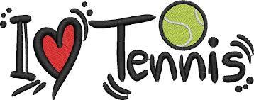 Tennis - I love 2